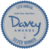 2017 Silver Davey Award for Website Consulting