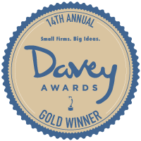 2018 Gold Davey Award for Website Design and Development