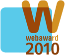 Webaward Standard of Excellence 2010